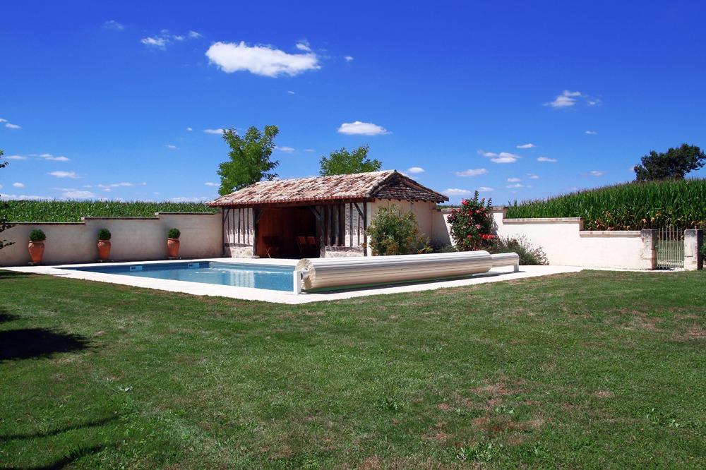 La piscine - Location de vacances - Saint-Rémy DORDOGNE