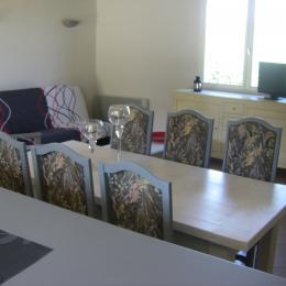 salle a manger - Location de vacances - Vergt