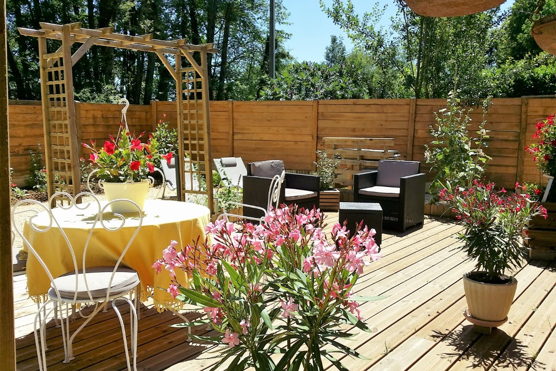 Vue d'ensemble - Location de vacances - Sarlat-la-Canéda
