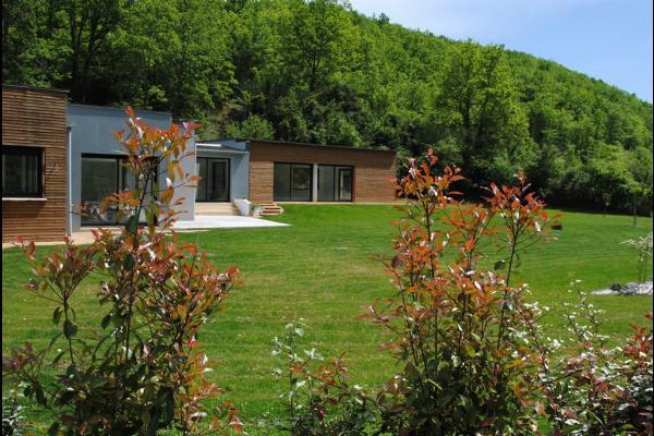Villa Contemporaine Avec Piscine Intrieure Chauffe Pour