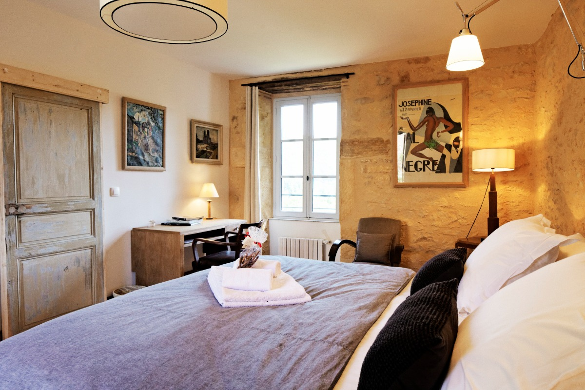 La chambre - Chambre d'hôtes - Saint-Vincent-de-Cosse