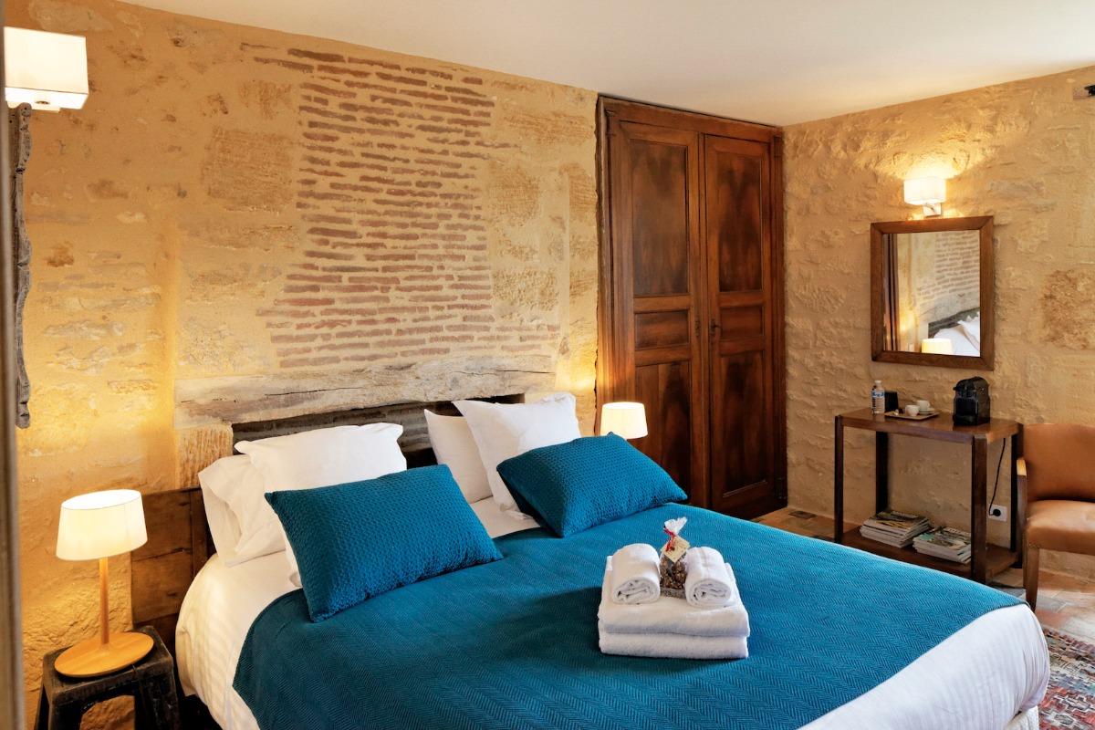 Vue d'ensemble de la chambre - Chambre d'hôtes - Saint-Vincent-de-Cosse