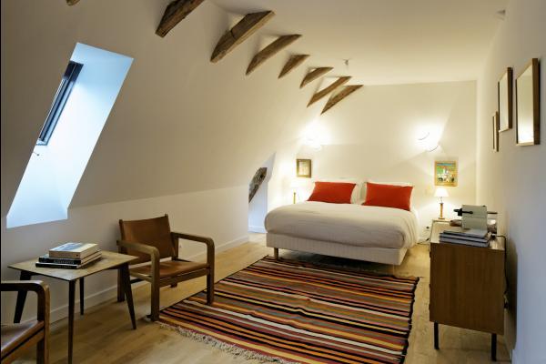 La chambre Tozeur avec sa déco d'inspiration tunisienne - Chambre d'hôtes - Saint-Vincent-de-Cosse