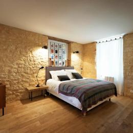 La chambre avec une déco inspirée par New York, où j'ai fait des études - Chambre d'hôte - Saint-Vincent-de-Cosse