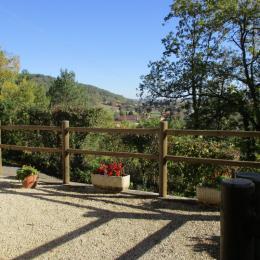 Canapé séjour - Location de vacances - Montignac