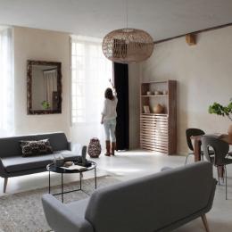 L'espace salon - Location de vacances - Sarlat-la-Canéda