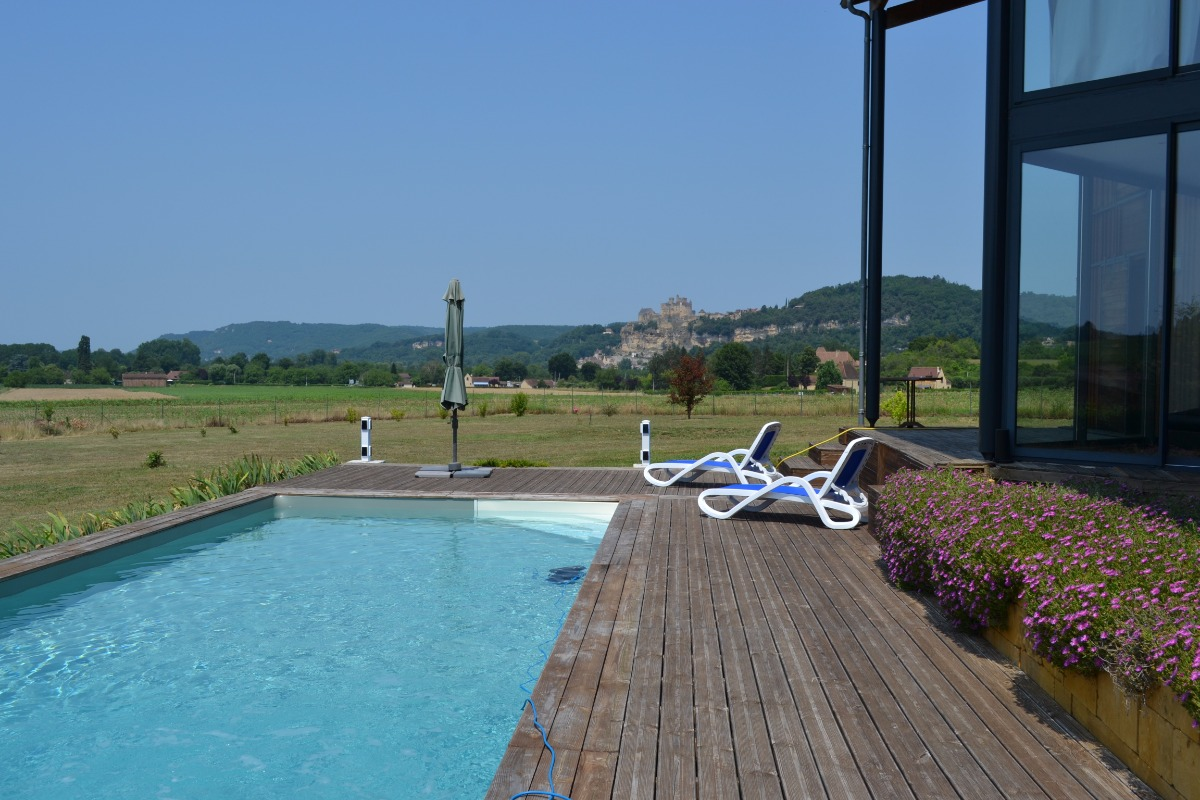 Piscine - Location de vacances - Vézac