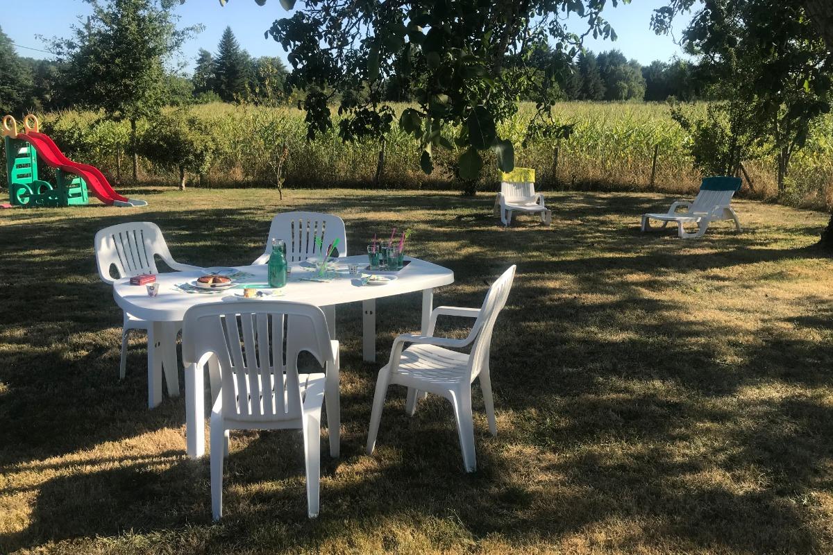 Salon Séjour - Location de vacances - Piégut-Pluviers