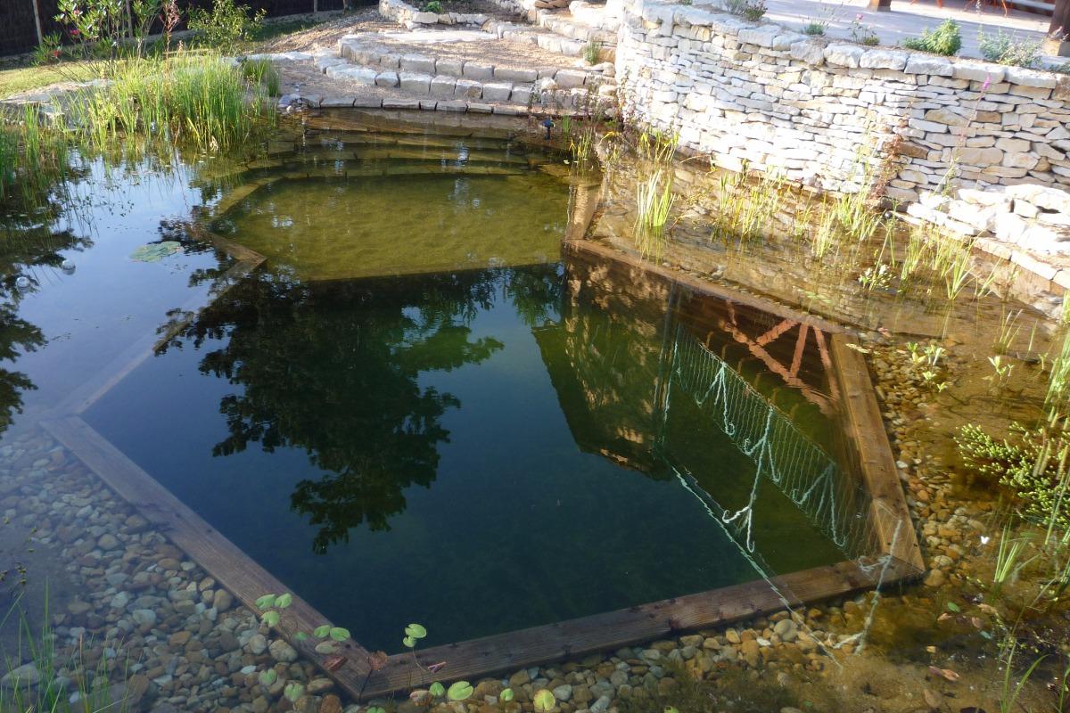 Bassin naturel pour se rafraîchir  - Location de vacances - Plazac