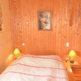 Chambre 1 lit 160 - salle de bain privative attenante  - Location de vacances - Plazac