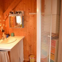 Salle de bain chambre 1  - Location de vacances - Plazac