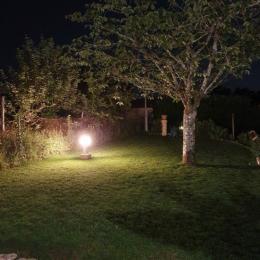 Eclairage extérieur - Location de vacances - Sarlat-la-Canéda
