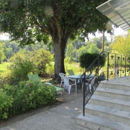 La terrasse - Location de vacances - Calès Dordogne