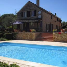 piscine 10X5m  - Location de vacances - La Chapelle-Aubareil