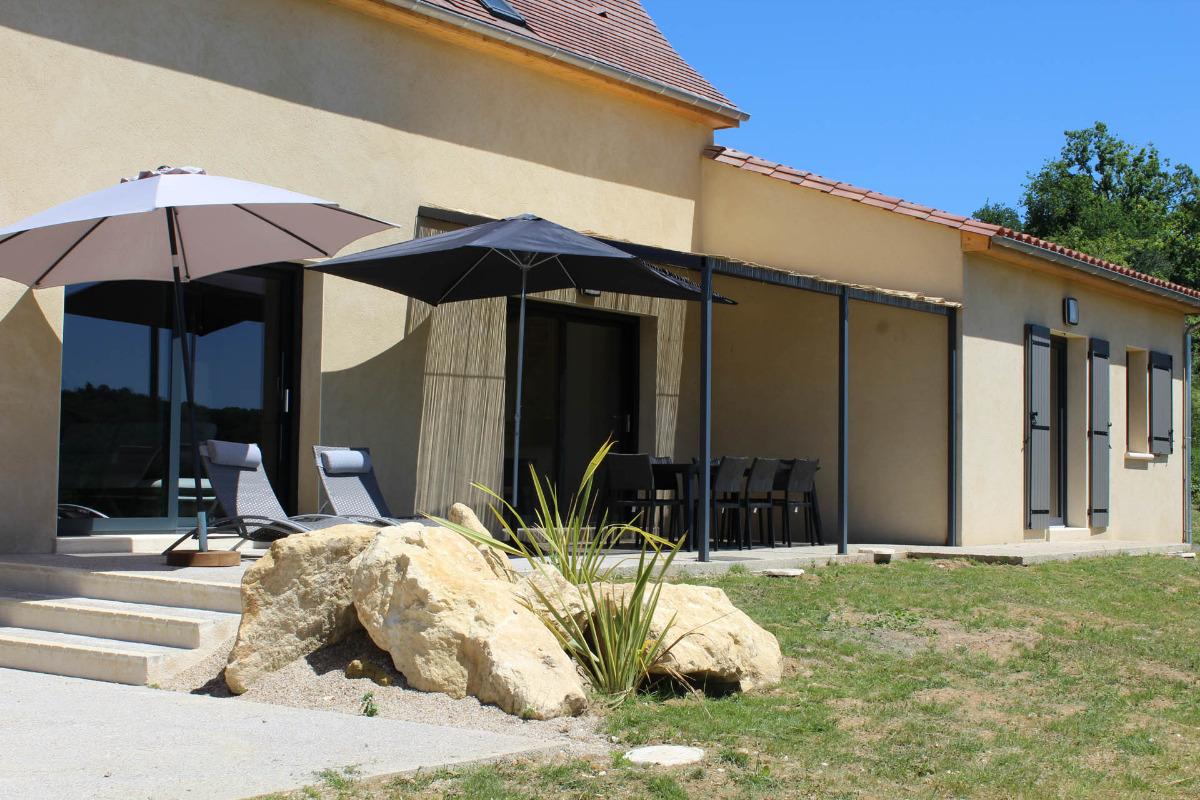 Maison de vacances avec piscine int rieure et spa la for Maison piscine interieure location
