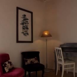 Petit salon de lecture et d'écriture - Chambre d'hôtes - Saint-Michel-de-Montaigne