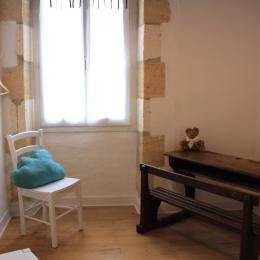 Chambre enfant vue 2 - Chambre d'hôtes - Saint-Michel-de-Montaigne