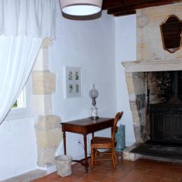 Salon  - Chambre d'hôtes - Saint-Michel-de-Montaigne