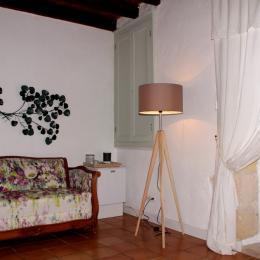 Salon coin détente - Chambre d'hôtes - Saint-Michel-de-Montaigne