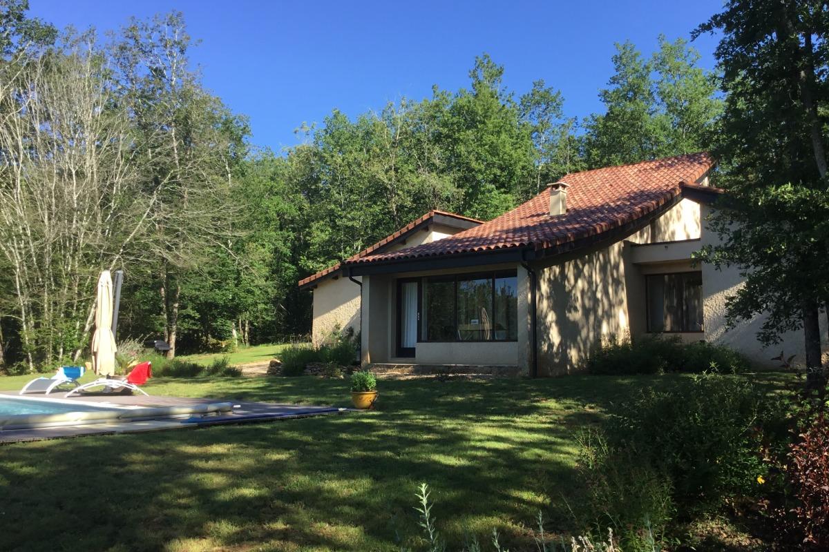 Gîte en Dordogne-Périgord avec piscine privée - la maison - Location de vacances - Mauzac-et-Grand-Castang