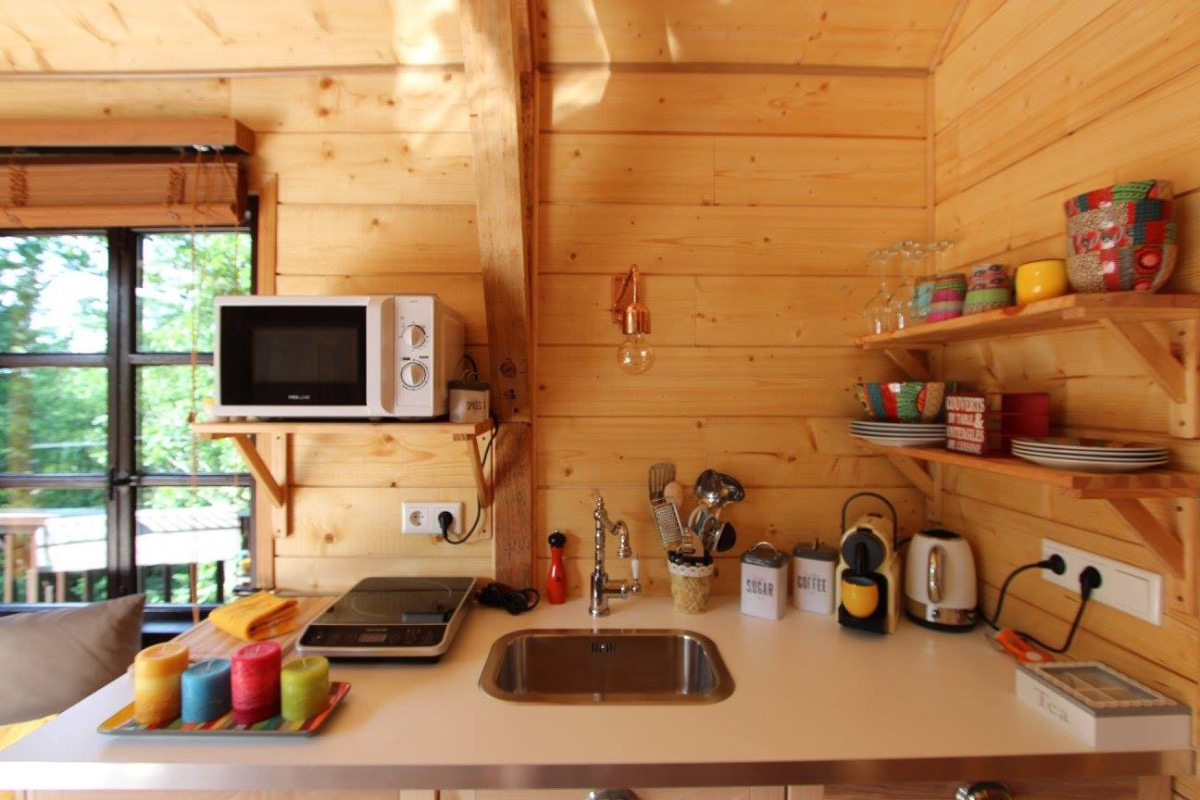 cuisine - Chambre d'hôtes - Auriac-du-Périgord