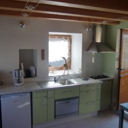 La Vieille Grange Coin cuisine - Location de vacances - Saint-Cybranet