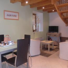 La Vieille Grange pièce à vivre - Location de vacances - Saint-Cybranet