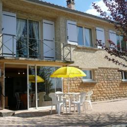 entrée appartement - Location de vacances - Sarlat-la-Canéda