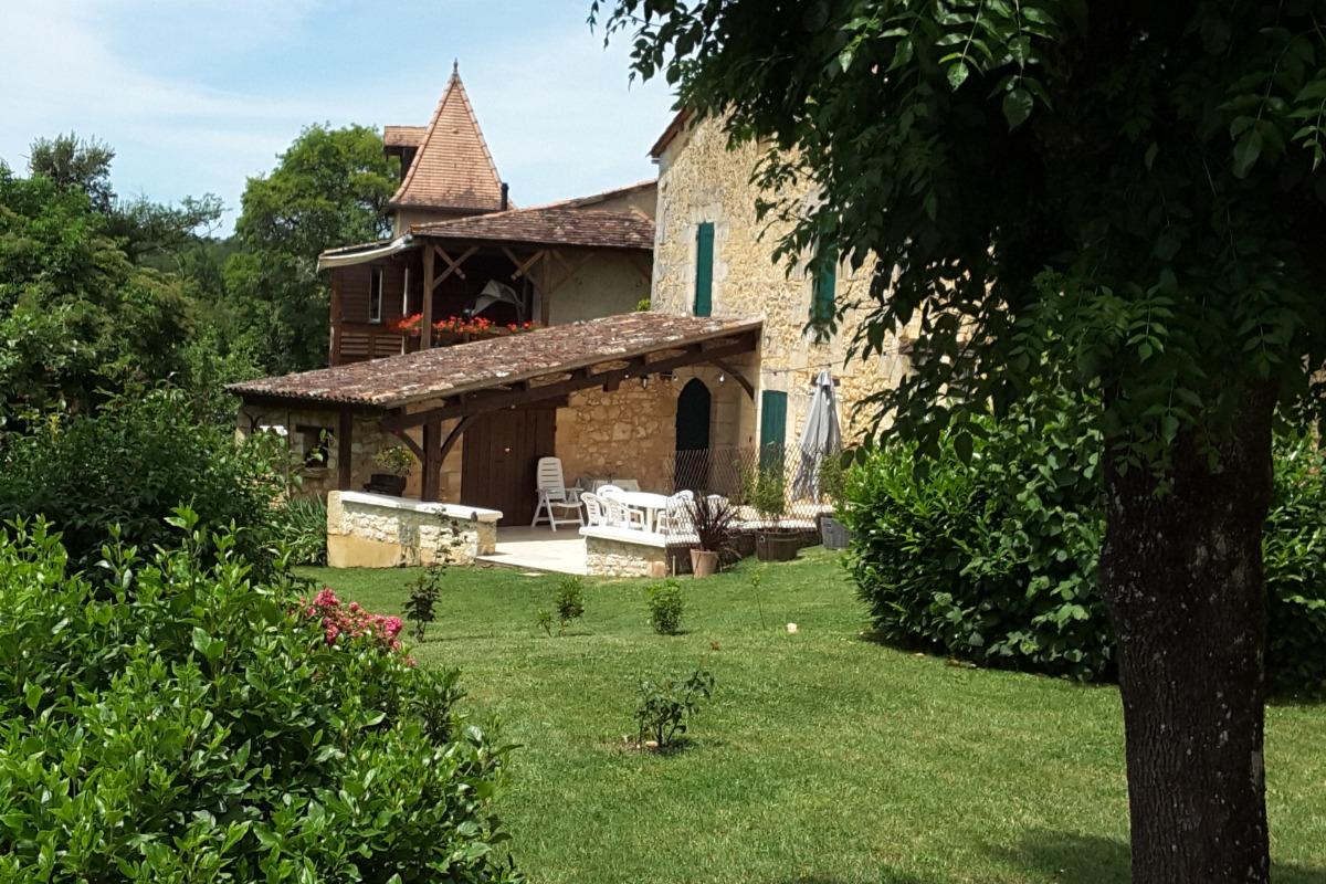 Maison et terrasse - Location de vacances - Maurens