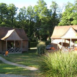 chambres 2 lits 80 cm - Location de vacances - Carsac-Aillac