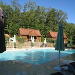chambre parentale, lit de 160 cm - Location de vacances - Carsac-Aillac