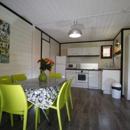 séjour-cuisine - Location de vacances - Carsac-Aillac