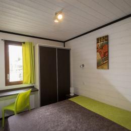 chambre parentale, 1 lit de 160 cm - Location de vacances - Carsac-Aillac