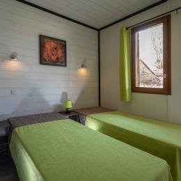 chambre 2 lits de 80 cm - Location de vacances - Carsac-Aillac