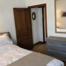 chambre, lit 160x200 - Location de vacances - Domme