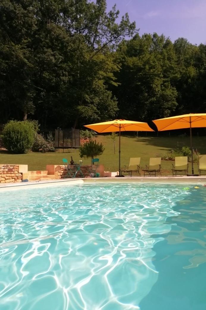 la piscine - Location de vacances - Sarlat-la-Canéda