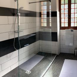 salle d'eau - Chambre d'hôtes - Sarlat-la-Canéda