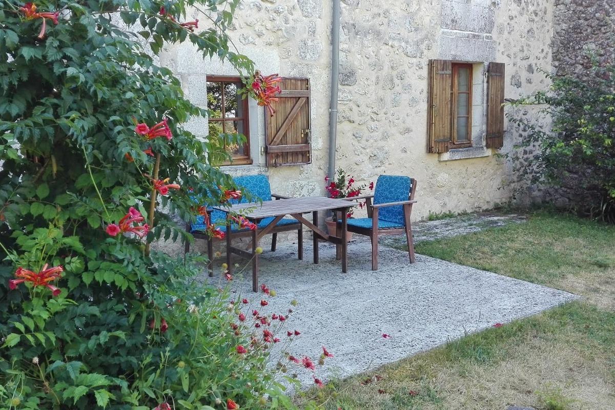 terrasse - Location de vacances - Celles