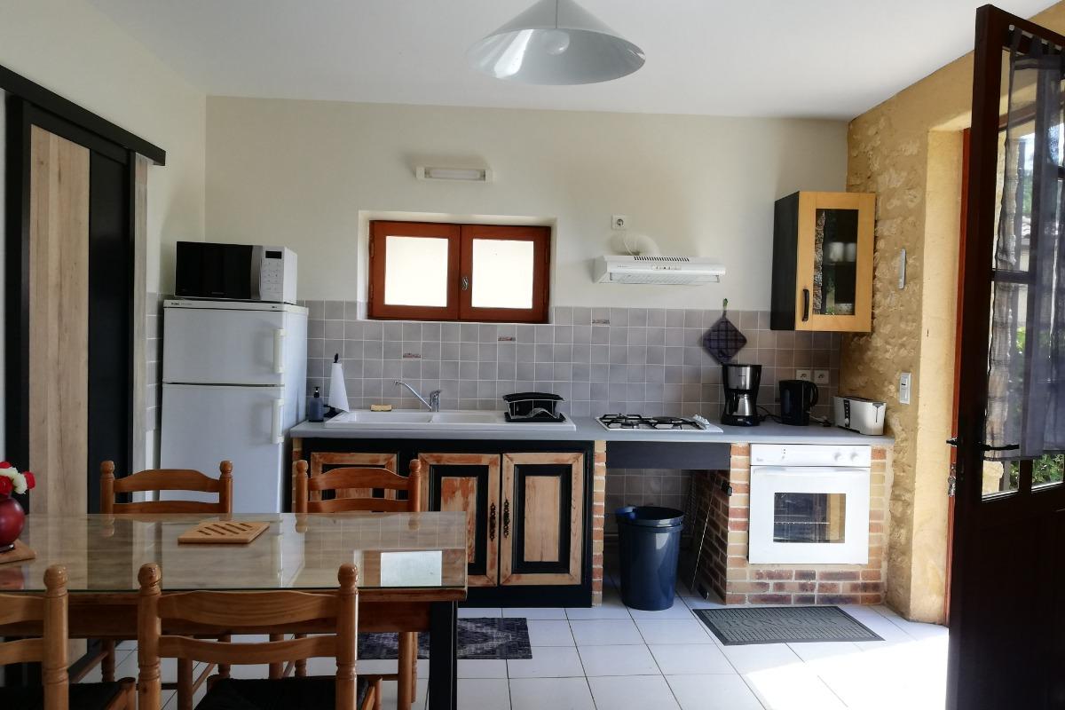 pièce à vivre - Location de vacances - Sarlat-la-Canéda