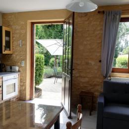chambre rez de chaussée - Location de vacances - Sarlat-la-Canéda