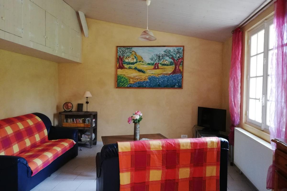 salle d 'eau  et wc - Location de vacances - Sarlat-la-Canéda