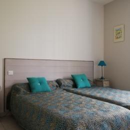 chambre à deux lits - Location de vacances - Sarlat-la-Canéda
