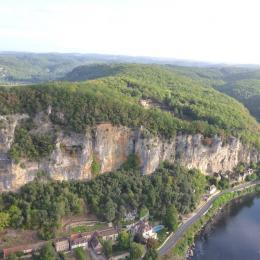 SEJOUR - SALON ET CHEMINEE - Location de vacances - Sarlat-la-Canéda