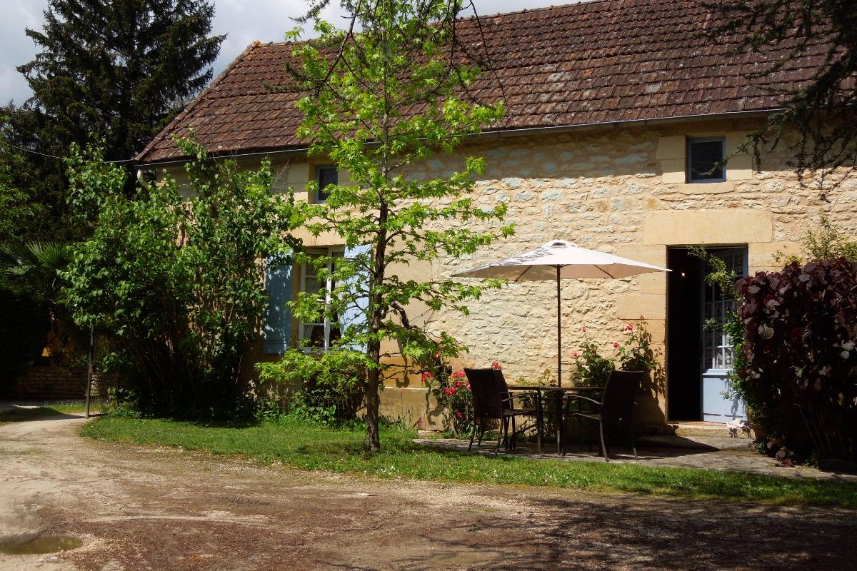 façade - Location de vacances - Saint-Vincent-de-Cosse