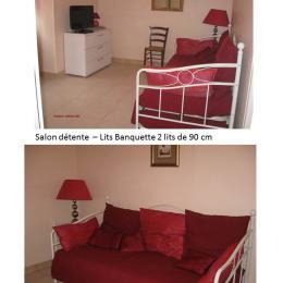 Salon détente - Location de vacances - Nanthiat