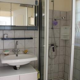 Salle d'eau + WC - Location de vacances - Nanthiat