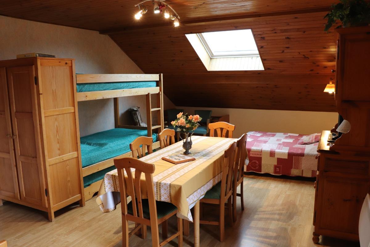 Vue du balcon  - Location de vacances - Jougne