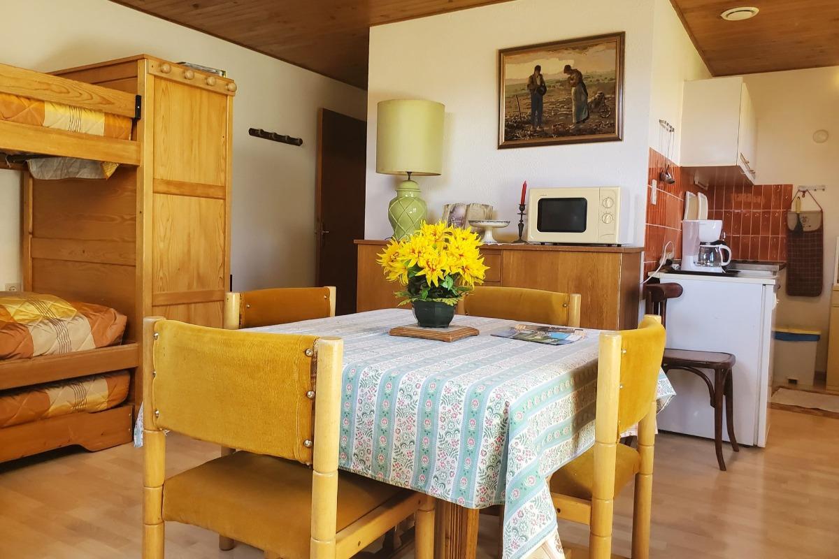 Le lit superposé - Location de vacances - Jougne