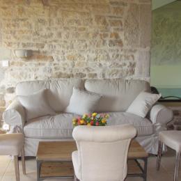 Chambres d'hôtes dans le Doubs - salon hall - Chambre d'hôtes - Bremondans