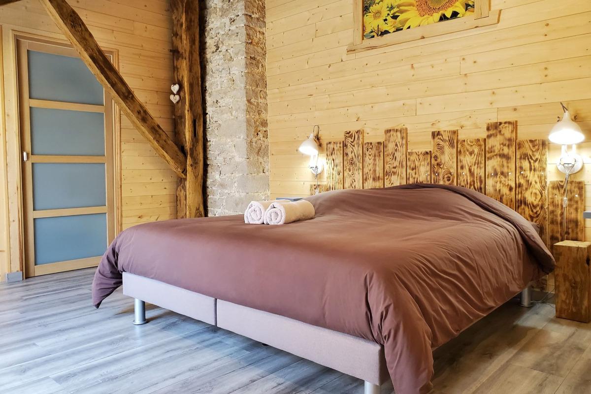 La chambre - Chambre d'hôtes - Vellerot-lès-Vercel